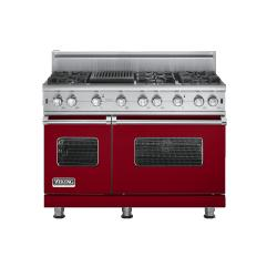 Brand: Viking, Model: VGCC5486QSSLP, Fuel Type: Apple Red - Natural Gas