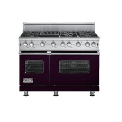 Brand: Viking, Model: VGCC5486QSSLP, Fuel Type: Plum