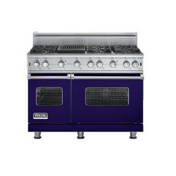 Brand: Viking, Model: VGCC5486QX, Fuel Type: Cobalt Blue - Natural Gas