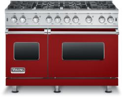 Brand: Viking, Model: VGCC5488BCBLP, Fuel Type: Apple Red - Natural Gas