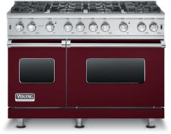 Brand: Viking, Model: VGCC5488BGGLP, Fuel Type: Burgundy - Natural Gas