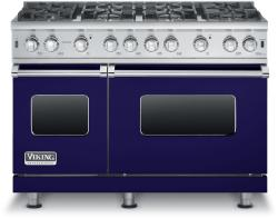 Brand: Viking, Model: VGCC5488BCBLP, Fuel Type: Cobalt Blue - Natural Gas