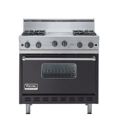Brand: Viking, Model: VGIC3664QRR, Color: Graphite Gray