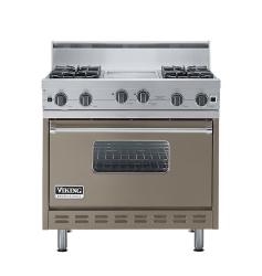 Brand: Viking, Model: VGIC3664QSE, Color: Stone Gray