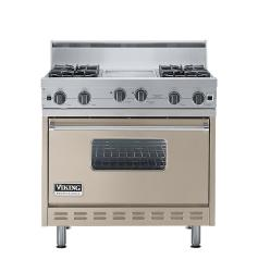 Brand: Viking, Model: VGIC3664QSE, Color: Taupe