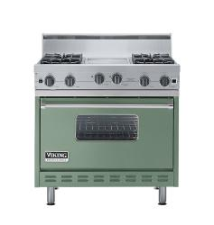 Brand: Viking, Model: VGIC3664QRR, Color: Mint Julep