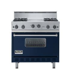 Brand: Viking, Model: VGIC3664QRR, Color: Viking Blue