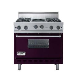 Brand: Viking, Model: VGIC3664QRR, Color: Plum