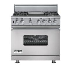 Brand: Viking, Model: VGSC5364GVBLP, Fuel Type: Metallic Silver