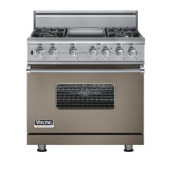 Brand: Viking, Model: VGSC5364GGGLP, Fuel Type: Stone Gray - Natural Gas