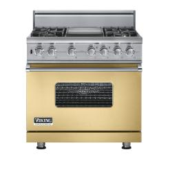 Brand: Viking, Model: VGSC5364GGGLP, Fuel Type: Golden Mist