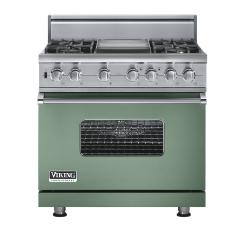 Brand: Viking, Model: VGSC5364GVBLP, Fuel Type: Mint Julep