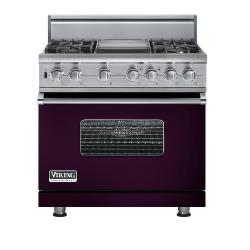 Brand: Viking, Model: VGSC5364GGGLP, Fuel Type: Plum
