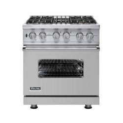 Brand: Viking, Model: VGSC5304BWS, Fuel Type: Metallic Silver
