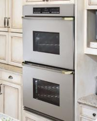Brand: Dacor, Model: ECD227SBR, Color: Stainless Steel/Brass Trim