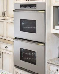 Brand: Dacor, Model: ECD230SBK, Color: Stainless Steel/Brass Trim
