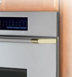 Brand: Dacor, Model: ECS136, Color: Stainless Steel/Brass Trim