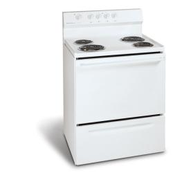 Brand: Frigidaire, Model: FEF312BS, Color: White on White