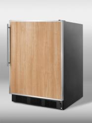 Brand: SUMMIT, Model: CT66B, Color: Stainless Steel Frame (Requires Panel)