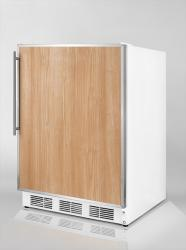 Brand: SUMMIT, Model: CT66FR, Color: Stainless Steel Frame (Requires Panel)