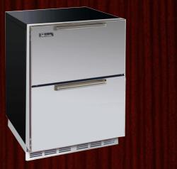 Brand: PERLICK, Model: HA24FB5, Style: Integrated Wood Overlay Drawers