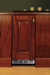 Brand: PERLICK, Model: HA24RB2R, Style: Integrated Solid Wood Overlay Door/Hinge Left