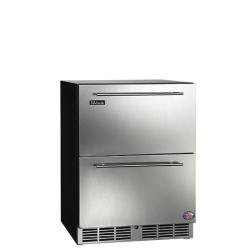 Brand: PERLICK, Model: HA24RB2R, Style: Solid Stainless Steel Drawers