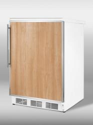 Brand: SUMMIT, Model: FF67ADASSHV, Color: Stainless Steel Frame (Requires Panel)