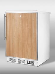 Brand: SUMMIT, Model: SCFF55LIMSSHH, Color: Stainless Steel Frame (Requires Panel)