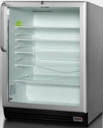 Brand: SUMMIT, Model: SCR600BLADACSS, Color: Stainless Cabinet/Handle
