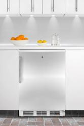 Brand: SUMMIT, Model: FF7LPUBBI, Color: Stainless Door with Pro Handle