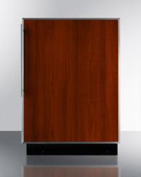Brand: SUMMIT, Model: BI605R, Color: Stainless Steel Frame (Requires Panel)