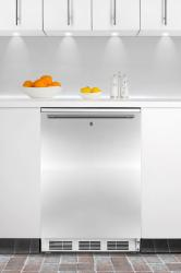 Brand: SUMMIT, Model: BI540LFR, Color: Stainless Door with Horizontal Thin Handle