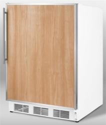 Brand: SUMMIT, Model: CT67BIADAFR, Color: Stainless Steel Frame (Requires Panel)