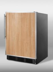 Brand: SUMMIT, Model: SCFF55BCSS, Color: Stainless Steel Frame (Requires Panel)