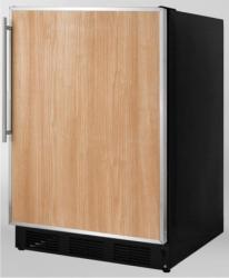 Brand: SUMMIT, Model: SCFF55BADA, Color: Stainless Steel Frame (Requires Panel)