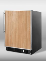 Brand: SUMMIT, Model: SCFF55BIMIF, Color: Stainless Steel Frame (Requires Panel)