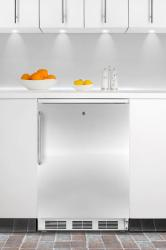 Brand: SUMMIT, Model: FF6L7BISSTB, Color: Stainless Door with Pro Handle