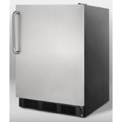Brand: SUMMIT, Model: FF7BBIADASSTB, Color: Stainless Door with Pro Handle