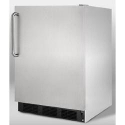 Brand: SUMMIT, Model: FF7BBIADASSTB, Color: Stainless Cabinet with Pro Handle