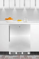Brand: SUMMIT, Model: AL750LBIFR, Color: Stainless Door with Vertical Thin Handle