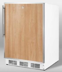 Brand: SUMMIT, Model: CT66LBIADAFR, Color: Stainless Steel Frame (Requires Panel)