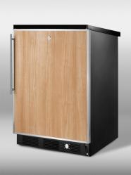 Brand: SUMMIT, Model: SCFF55LBLIMSSHH, Color: Stainless Steel Frame (Requires Panel)
