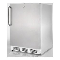 Brand: SUMMIT, Model: FF7LADACSS, Color: Stainless Cabinet with Pro Handle