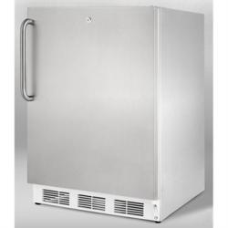 Brand: SUMMIT, Model: FF6L7ADACSS, Color: Stainless Cabinet with Pro Handle