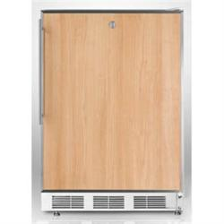 Brand: SUMMIT, Model: FS62L7ADASSTB, Color: Stainless Steel Frame (Requires Panel)