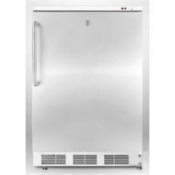 Brand: SUMMIT, Model: FS62L7ADASSTB, Color: Stainless Door with Pro Handle