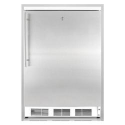 Brand: SUMMIT, Model: FS62L7ADASSTB, Color: Stainless Door with Vertical Thin Handle