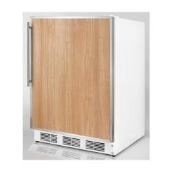 Brand: SUMMIT, Model: FS62ADASSHV, Color: Stainless Steel Frame (Requires Panel)