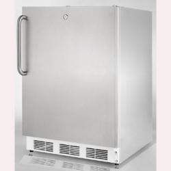 Brand: SUMMIT, Model: FS62LCSS, Color: Stainless Cabinet with Pro Handle